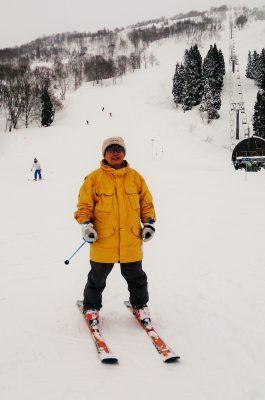 院長 スキー
