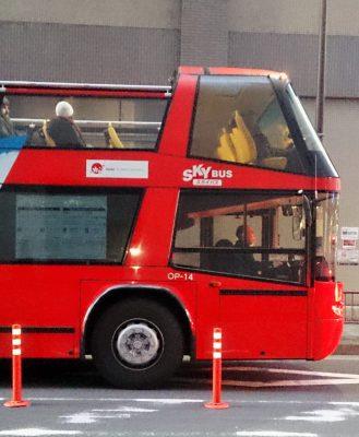 二階建てバスの写真